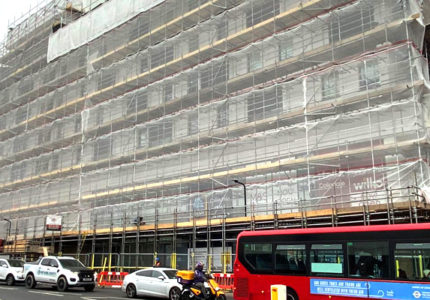 Commercial Scaffolding Company - London - BT Scaffolding