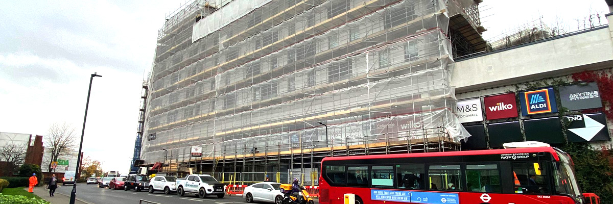 Commercial Scaffolding Company - London - BT Scaffolding