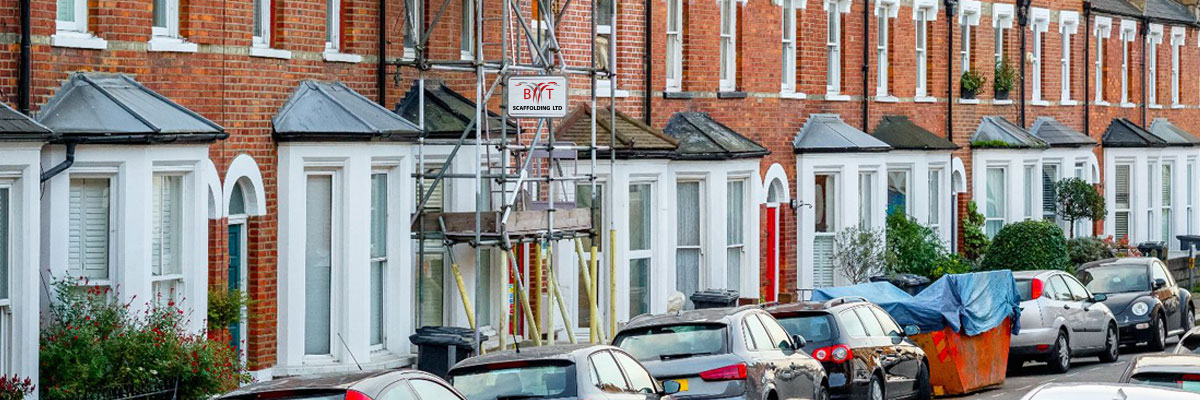 Domestic Scaffolding for Hire - Scaffolding Company - Greater London - BT Scaffolding