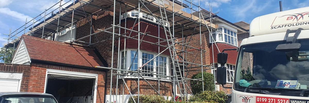 Domestic Scaffolding for Hire - Scaffolding Company - Greater London - BT Scaffolding