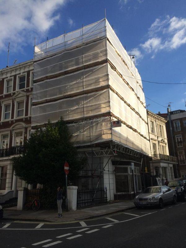 Scaffolding Fulham
